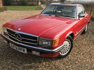 Exceptional 1987 500 SL Mercedes Benz 107 For Sale