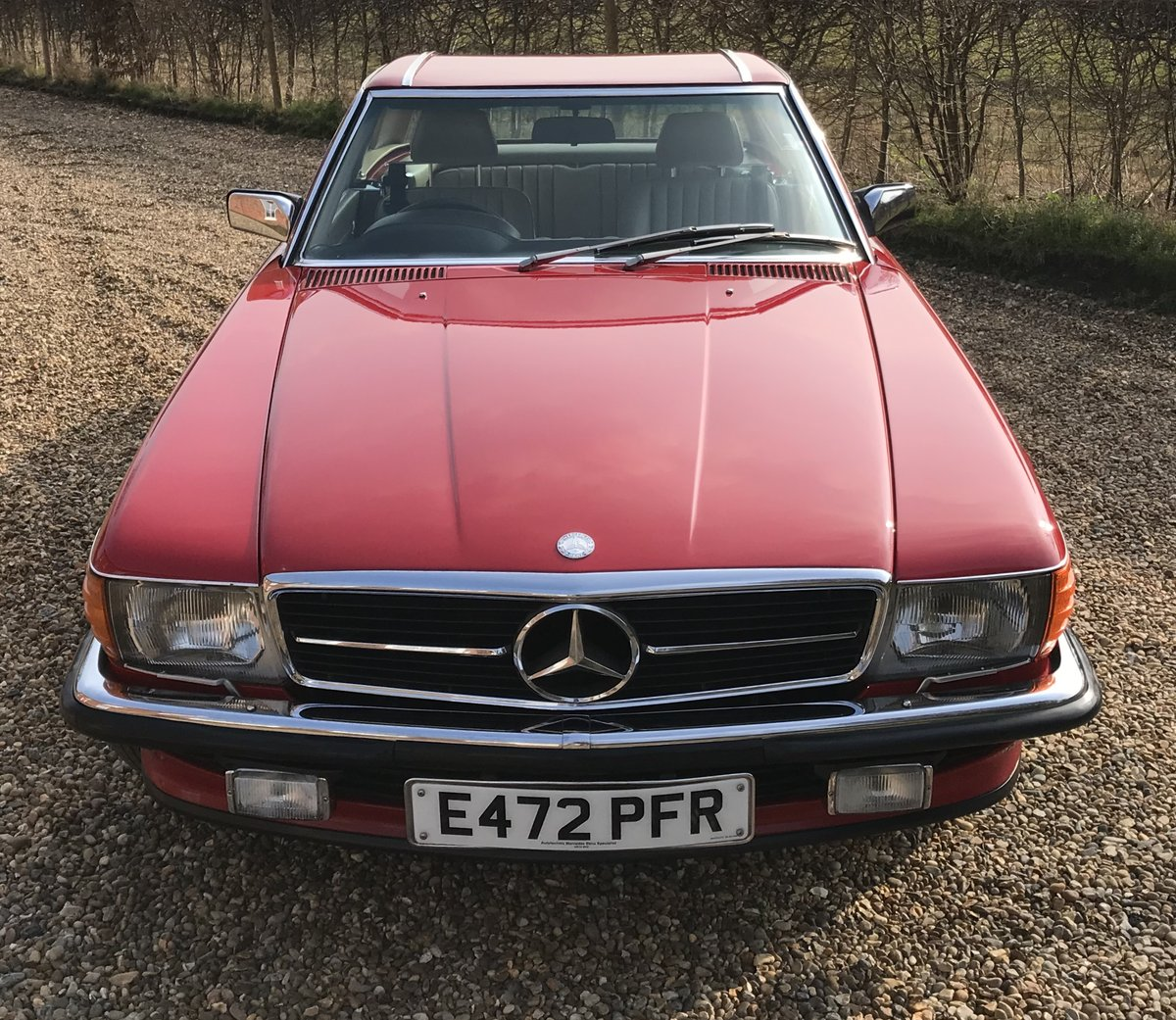 Exceptional 1987 500 SL Mercedes Benz 107 For Sale (picture 2 of 6)