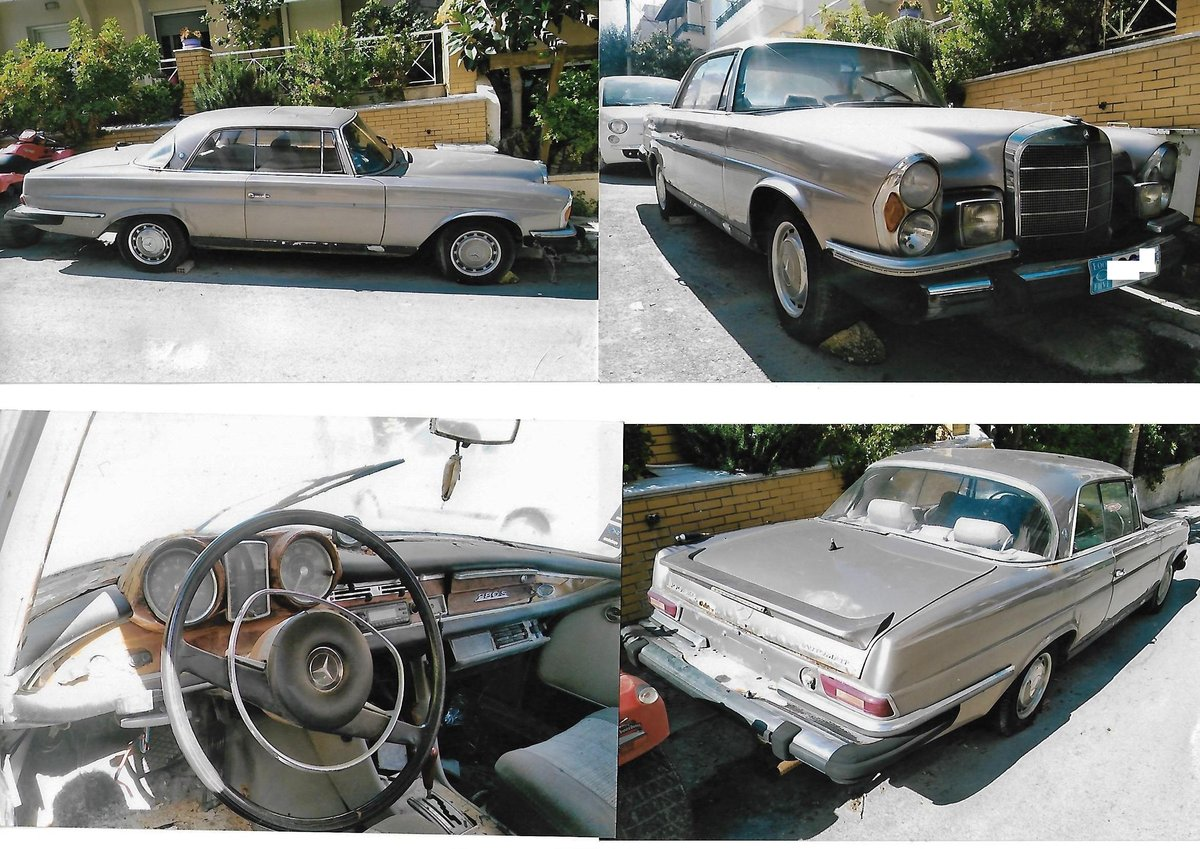 1960 MERCEDES 220SE For Sale (picture 1 of 4)