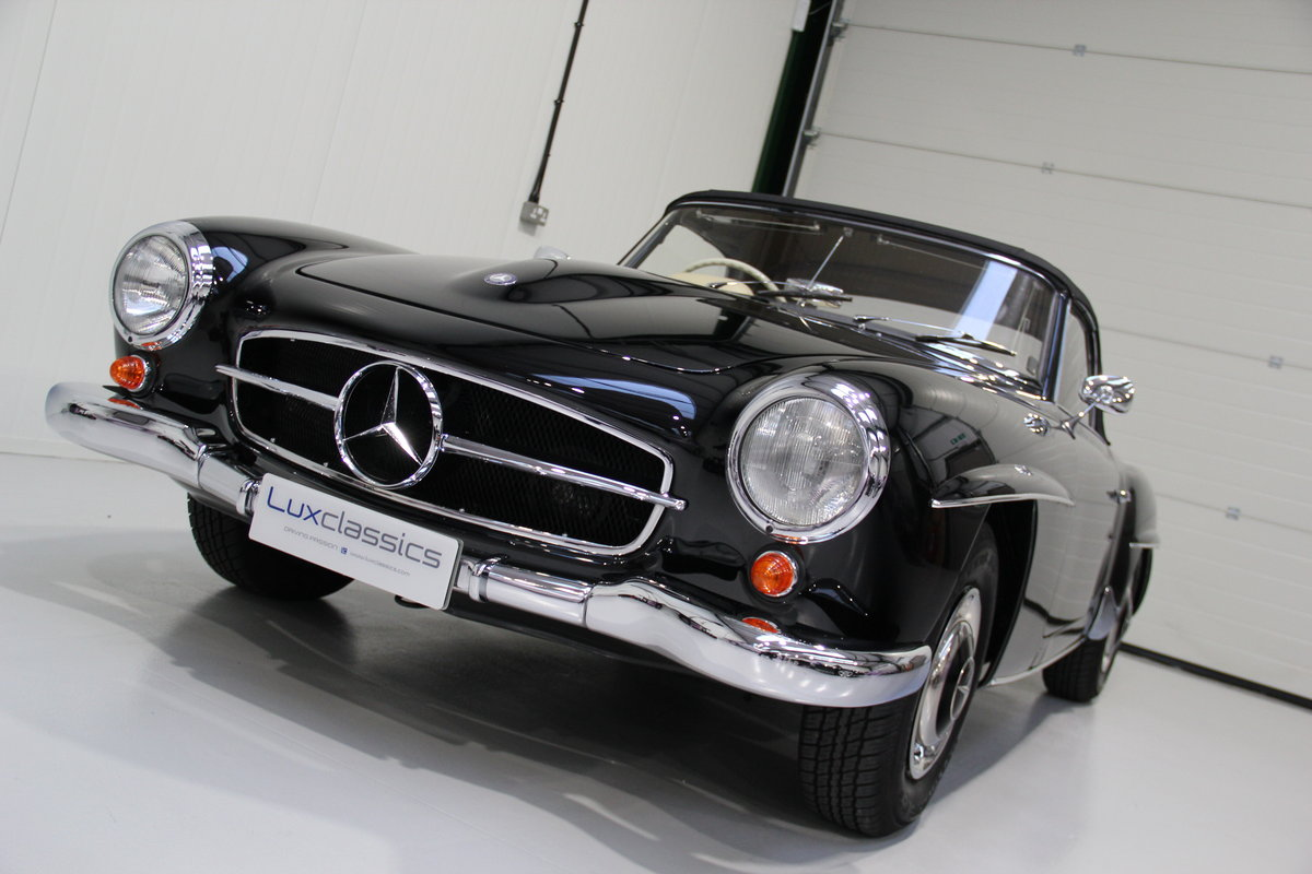 1957 Mercedes-Benz 190 SL RHD Restored For Sale (picture 2 of 6)