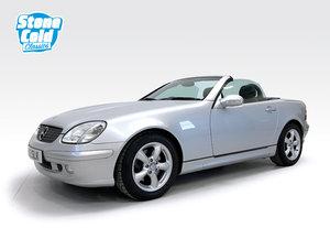 2000 Mercedes SLK320 with just 25,700 miles For Sale