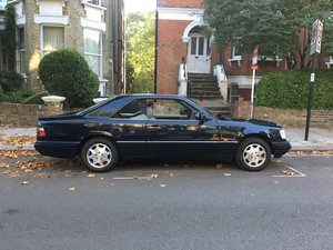 1995 Mercedes E320 Coupe – just 105,000 miles For Sale