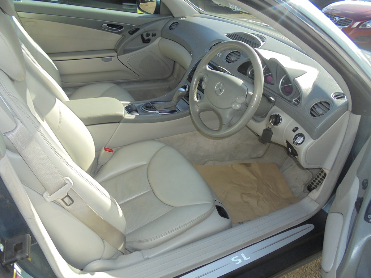 2004 MERCEDES SL350 Convertible 49000 Miles Panoramic Roof FSH For Sale (picture 2 of 6)