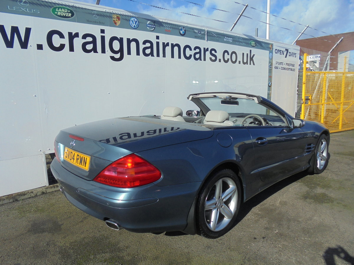 2004 MERCEDES SL350 Convertible 49000 Miles Panoramic Roof FSH For Sale (picture 4 of 6)