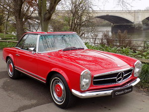 1970 MERCEDES 280SL PAGODA SPORTS - ORIGINAL UK RHD CAR SOLD