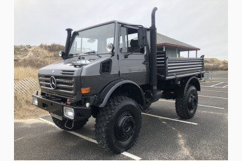 1989 Mercedes Benz Unimog Truck = clean grey driver $220k For Sale (picture 1 of 6)