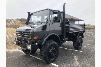 1989 Mercedes Benz Unimog Truck = clean grey driver $220k For Sale
