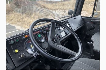 1989 Mercedes Benz Unimog Truck = clean grey driver $220k For Sale (picture 4 of 6)