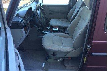 1996 Mercedes G320 3 door hard top = clean Purple $45k  For Sale (picture 4 of 6)