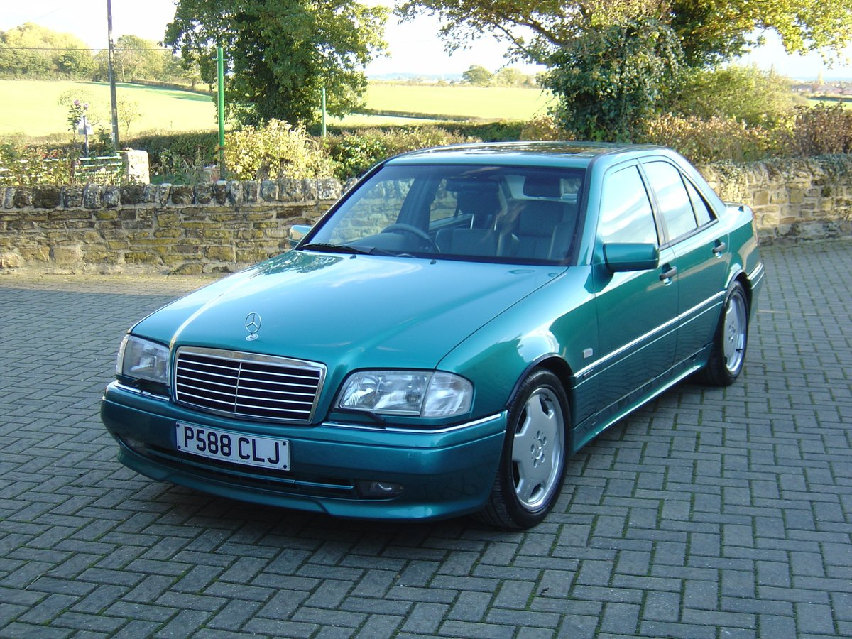 Mercedes C36 AMG 1997 Beautiful Cherished Example For Sale (picture 1 of 6)