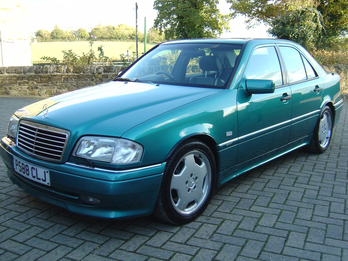 Mercedes C36 AMG 1997 Beautiful Cherished Example For Sale (picture 2 of 6)