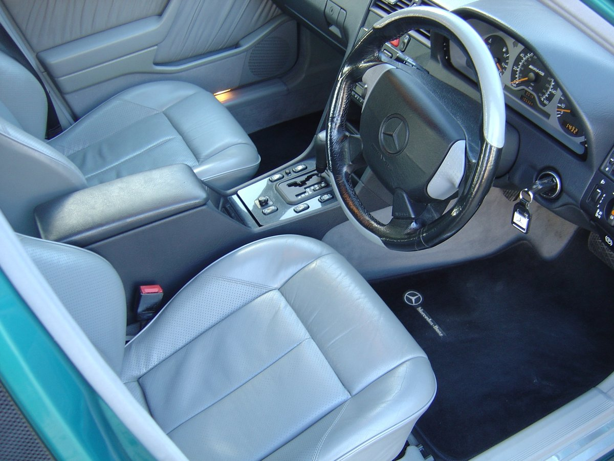 Mercedes C36 AMG 1997 Beautiful Cherished Example For Sale (picture 4 of 6)