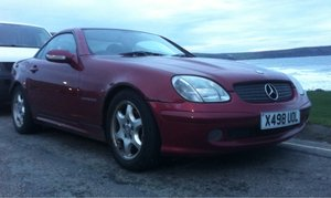 2001 Mercedes SLK 230 Kompressor - Resprayed