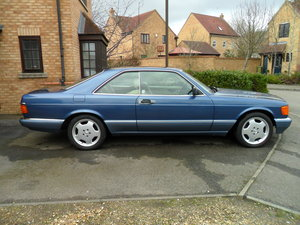 1989 Mercedes 500 SEC  FSH   3 Owners from new For Sale