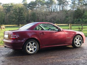 **MARCH AUCTION**2003 Mercedes Benz 230 SLK SOLD by Auction