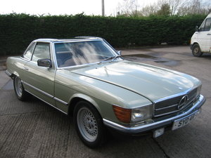 1977 Mercedes Benz 450 SL  SOLD