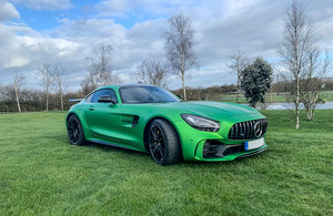2019 Mercedes-Benz AMG GTR - VAT qualifying.