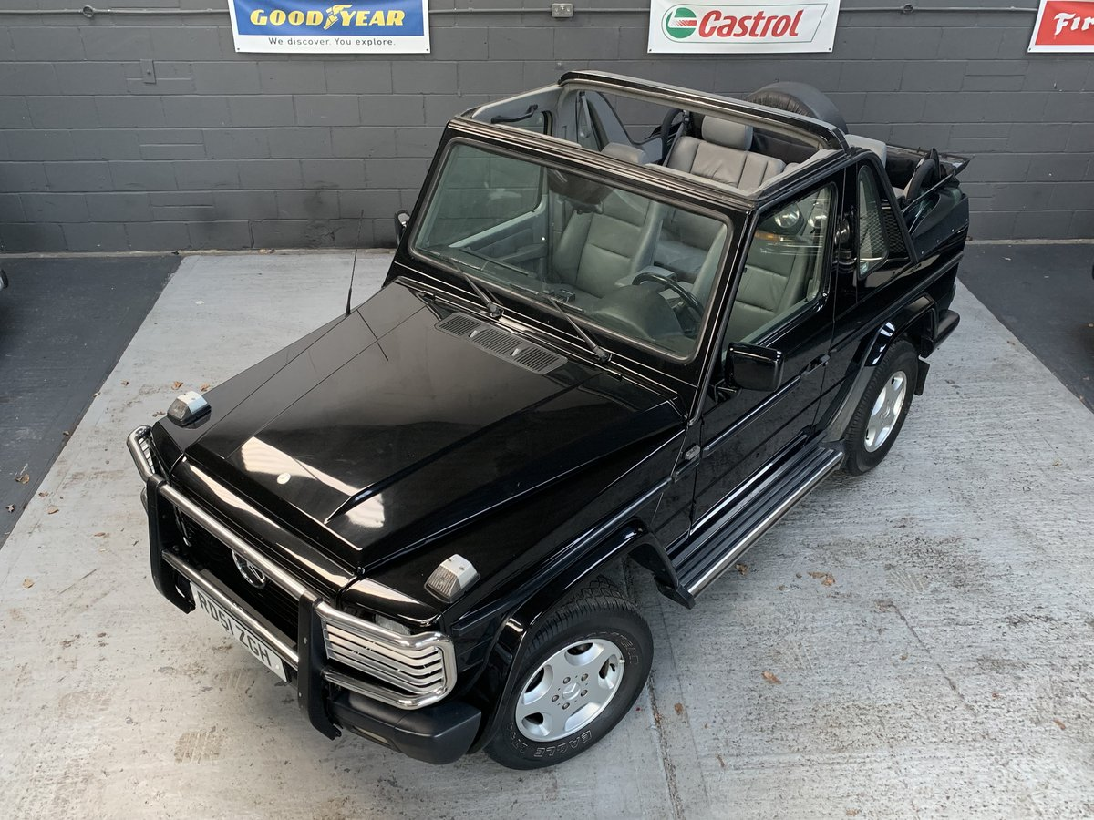 2001 Mercedes G300 G-Wagon CDI Auto Convertible LHD For Sale (picture 1 of 6)
