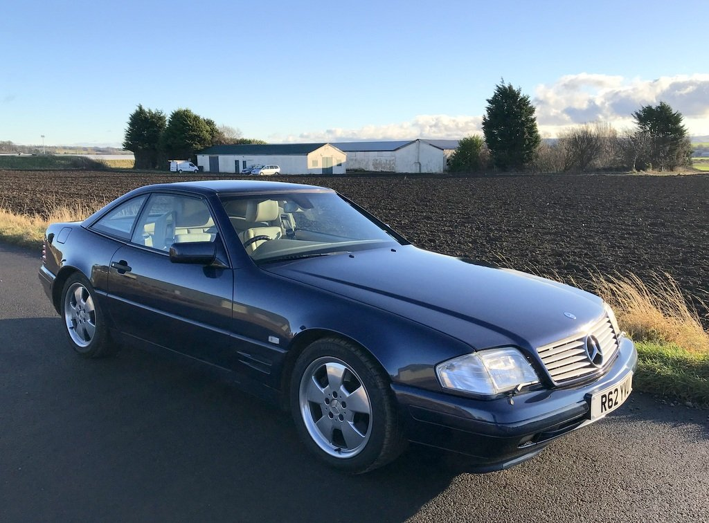 1998 Mercedes SL 500,Conv + Panoramic Roof SOLD (picture 1 of 6)