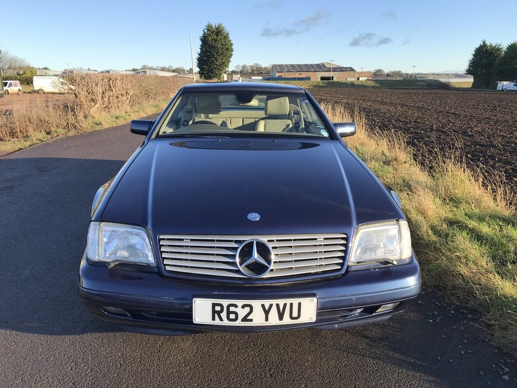 1998 Mercedes SL 500,Conv + Panoramic Roof SOLD (picture 2 of 6)