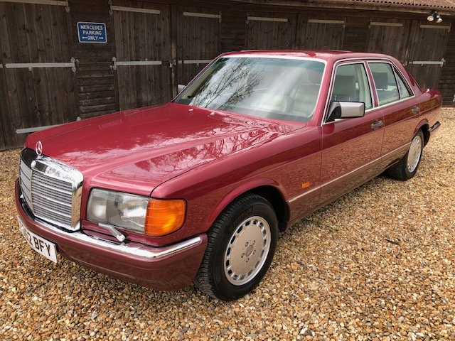 1989 Mercedes 420 SE ( 126-series ) For Sale (picture 1 of 6)