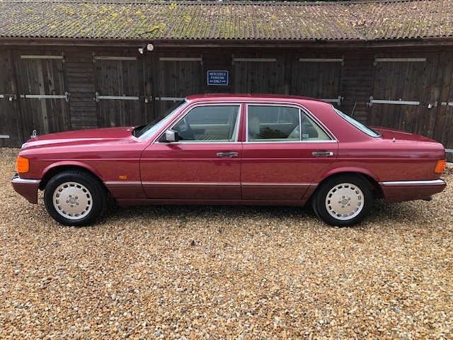 1989 Mercedes 420 SE ( 126-series ) For Sale (picture 2 of 6)