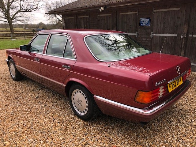 1989 Mercedes 420 SE ( 126-series ) For Sale (picture 3 of 6)
