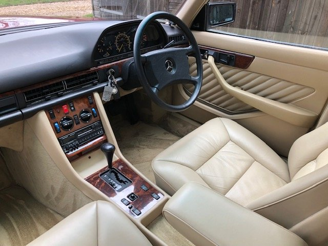 1989 Mercedes 420 SE ( 126-series ) For Sale (picture 4 of 6)