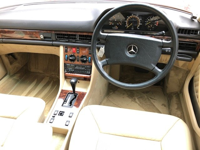 1989 Mercedes 420 SE ( 126-series ) For Sale (picture 5 of 6)
