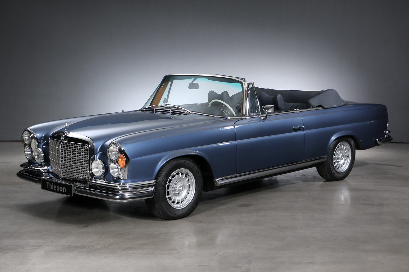 1971 Mercedes-Benz 280 SE 3.5 Convertible For Sale (picture 1 of 6)