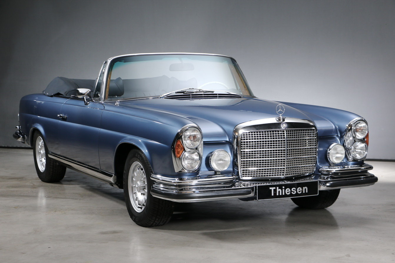 1971 Mercedes-Benz 280 SE 3.5 Convertible For Sale (picture 3 of 6)