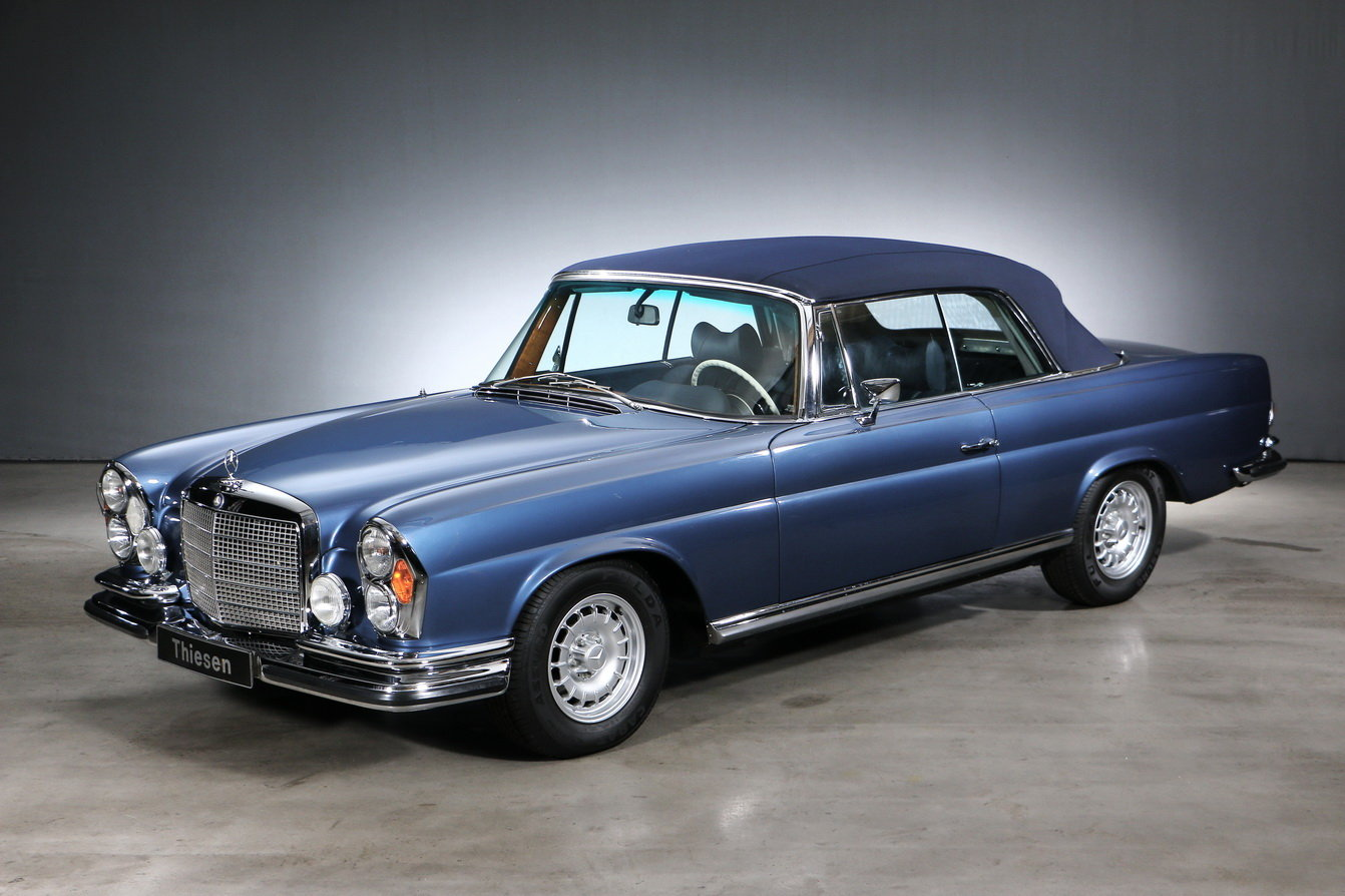 1971 Mercedes-Benz 280 SE 3.5 Convertible For Sale (picture 4 of 6)