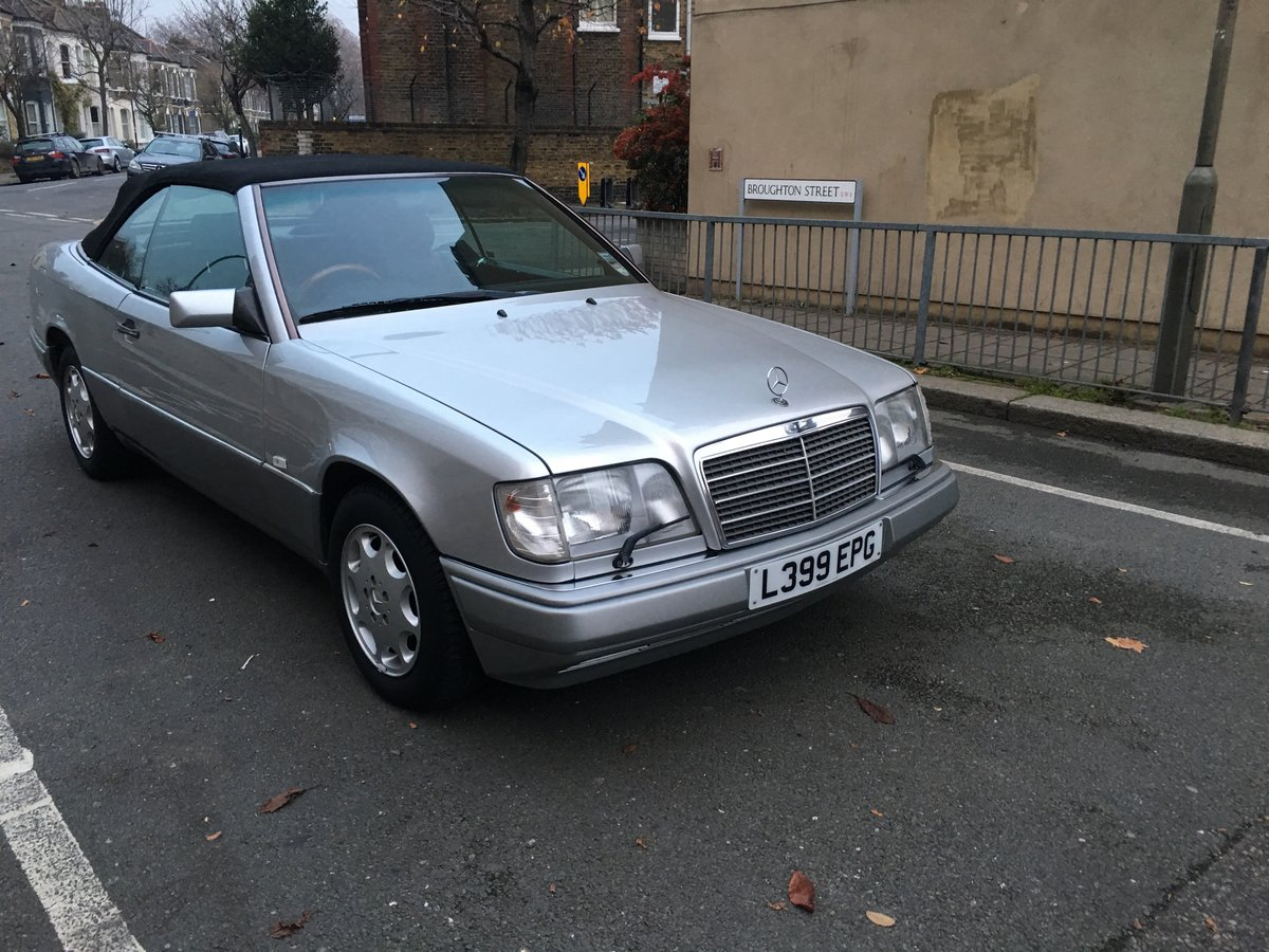 1994 MERCEDES E320 CABRIOLET W124 GREAT CONDITION For Sale (picture 6 of 6)