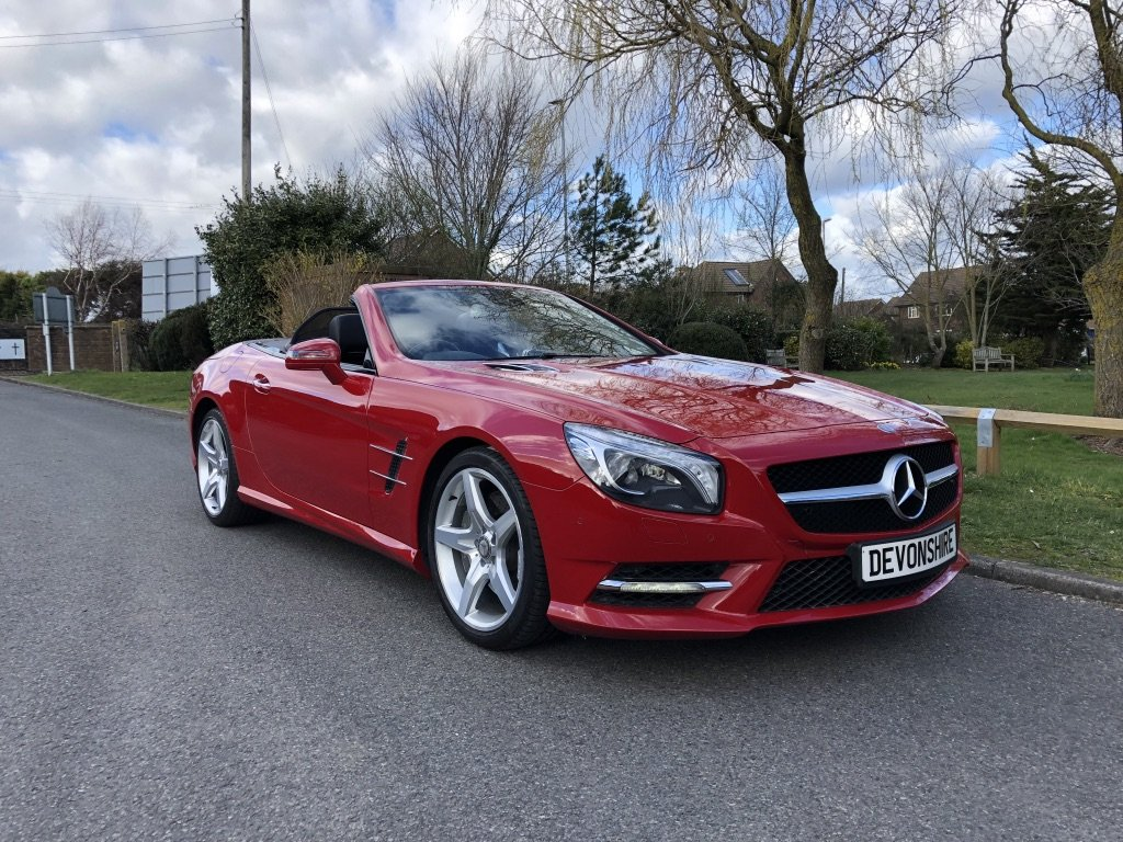 2012 Mercedes Benz SL350 V6 Sport AMG Convertible ONLY 28000 MILE For Sale (picture 1 of 6)
