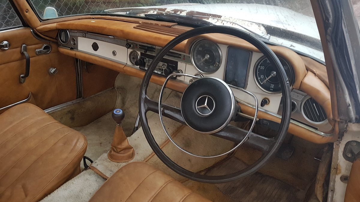 1965 MB 230SL RHD W113  project  For Sale (picture 1 of 6)