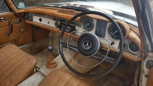 1965 MB 230SL RHD W113  project  SOLD