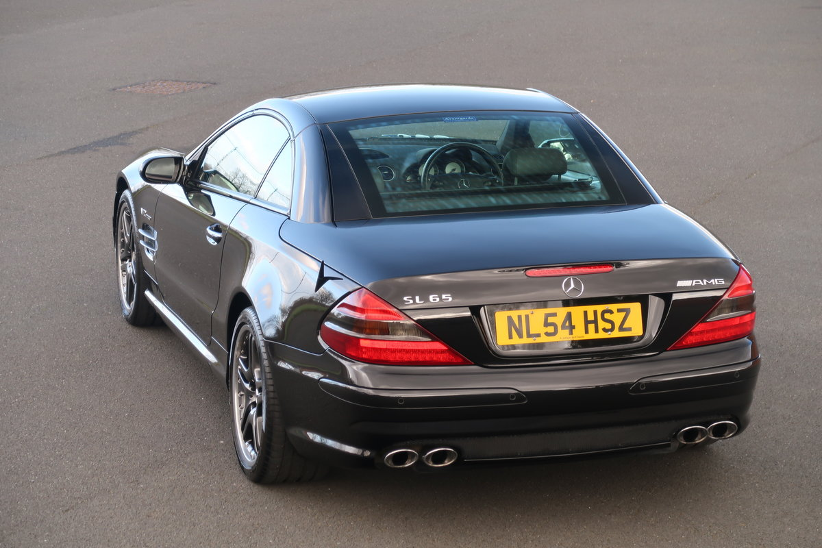 2004 MERCEDES SL65 AMG For Sale (picture 2 of 6)