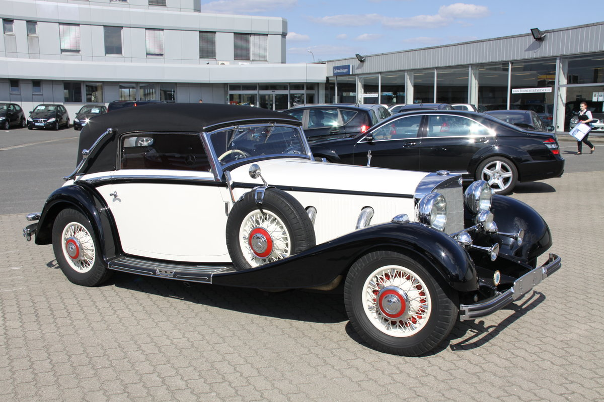 1935 Mercedes 500 k Cabriolet CvB For Sale (picture 1 of 6)