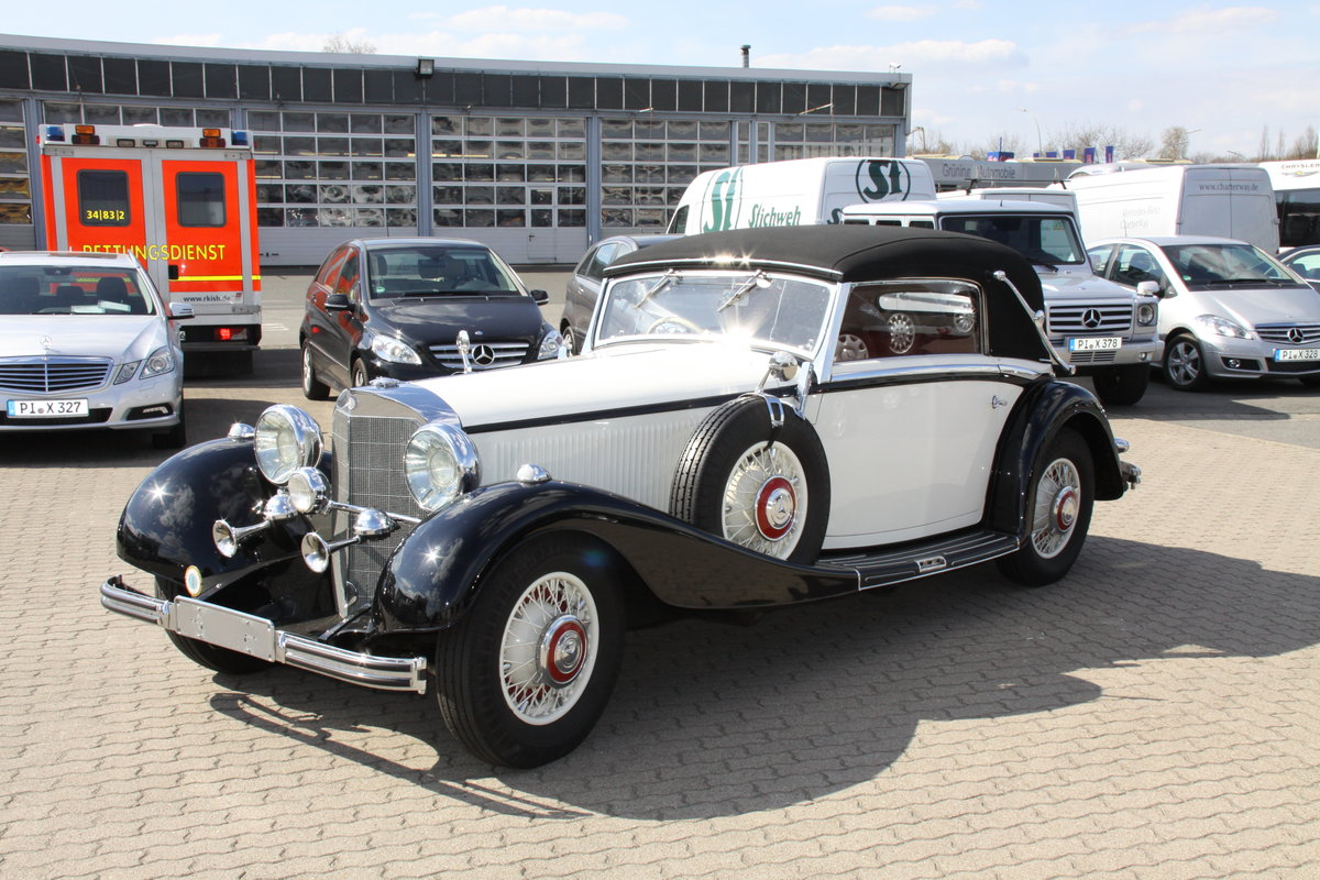 1935 Mercedes 500 k Cabriolet CvB For Sale (picture 2 of 6)
