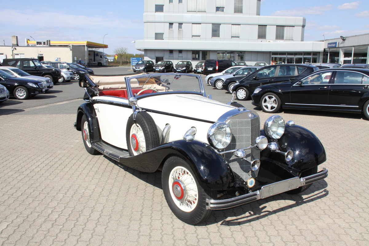 1935 Mercedes 500 k Cabriolet CvB For Sale (picture 3 of 6)