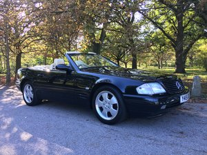 Mercedes SL280 2001 39,200 miles 1 owner Dealer FSH SOLD
