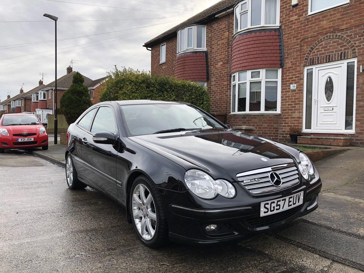 2007 Mercedes-Benz C180 Kompressor SE Coupe For Sale (picture 1 of 6)
