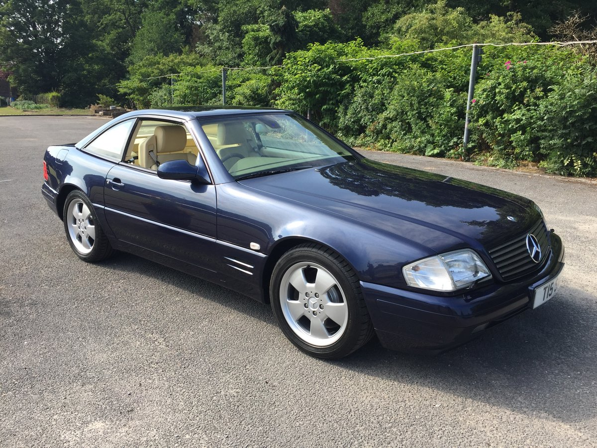 1999 MERCEDES SL320 SPORTS For Sale (picture 1 of 6)