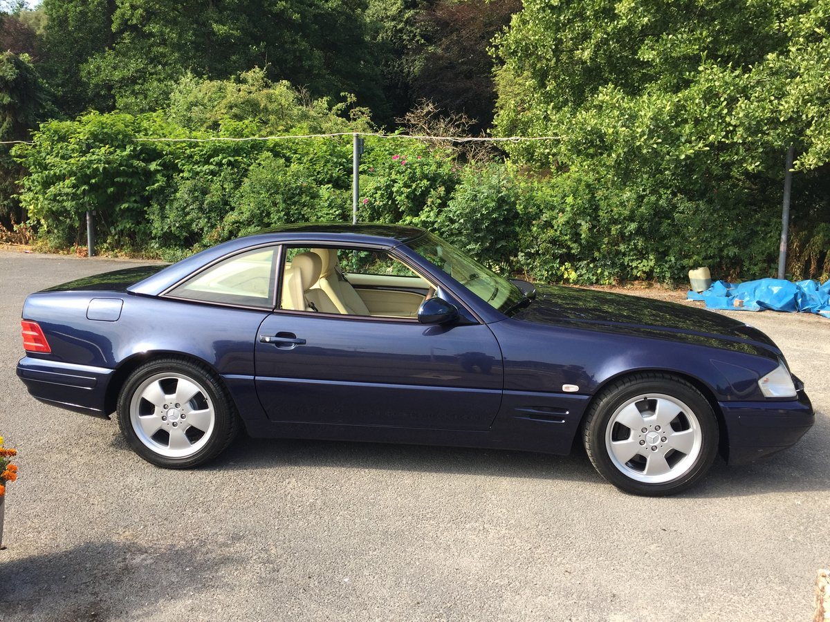 1999 MERCEDES SL320 SPORTS For Sale (picture 3 of 6)