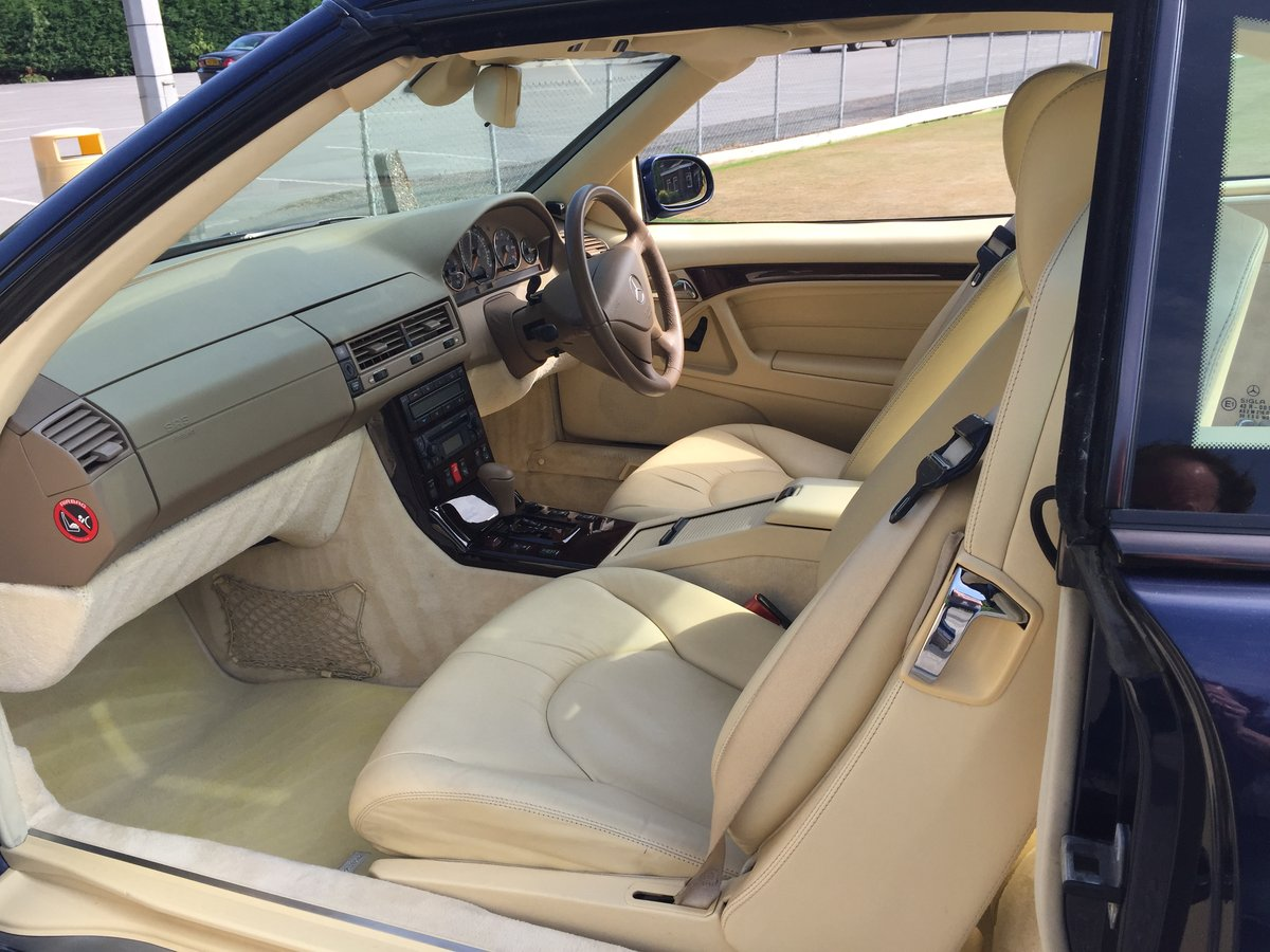 1999 MERCEDES SL320 SPORTS For Sale (picture 5 of 6)