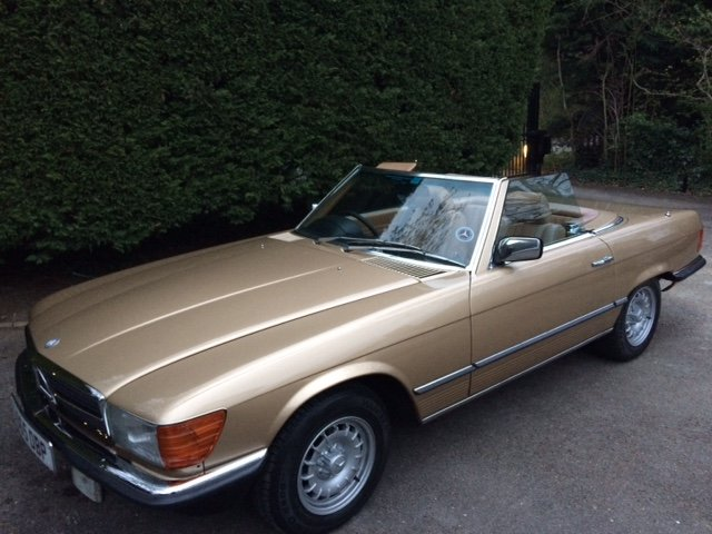 1983 Mercedes Benz 280 SL For Sale (picture 1 of 6)