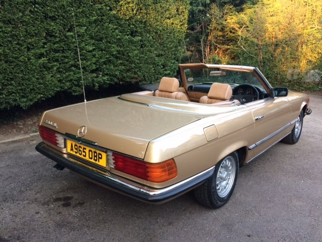 1983 Mercedes Benz 280 SL For Sale (picture 2 of 6)
