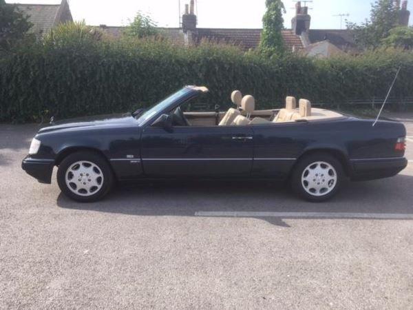 1996 Mercedes E 220 convertible SPORTLINE  For Sale (picture 1 of 6)