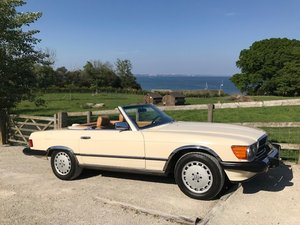 1986 Mercedes 560 SL LHD For Sale