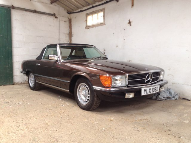 1981 Mercedes BENZ in unique colour and immaculate For Sale (picture 1 of 6)